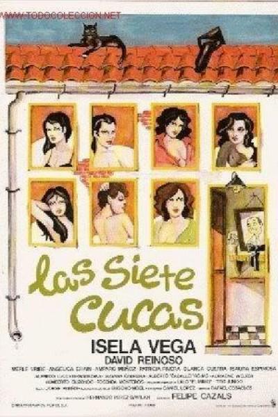 Caratula, cartel, poster o portada de Las siete Cucas