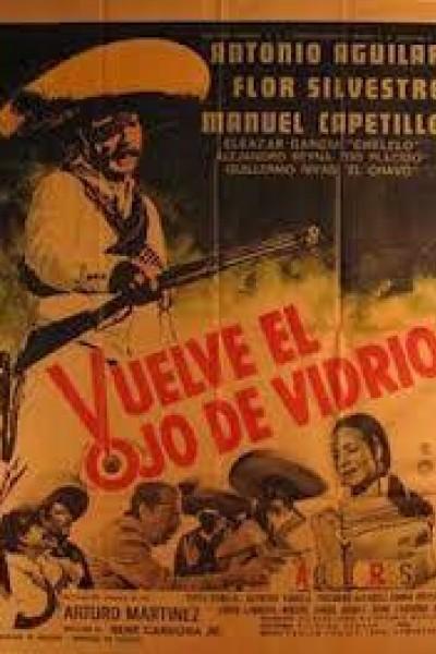 Caratula, cartel, poster o portada de Vuelve el ojo de vidrio
