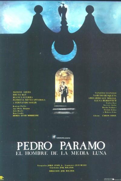 Caratula, cartel, poster o portada de Pedro Páramo - El hombre de la media luna