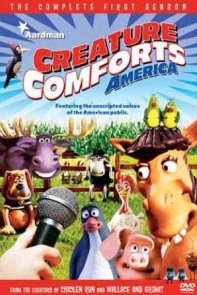 Caratula, cartel, poster o portada de Creature Comforts América
