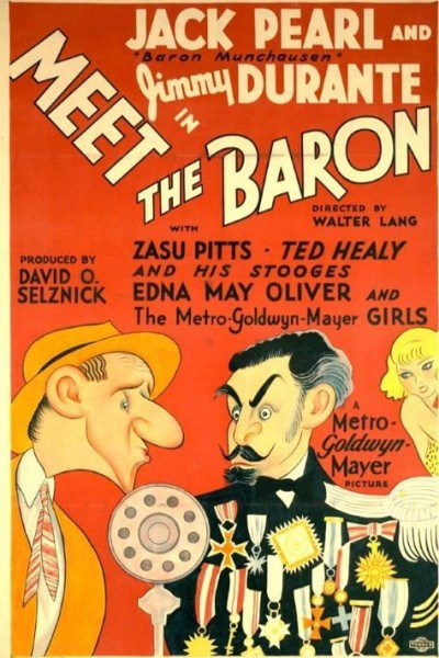 Caratula, cartel, poster o portada de Meet the Baron