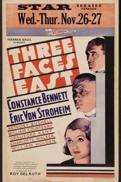 Caratula, cartel, poster o portada de Tres de cara a Oriente