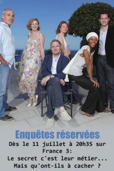 Caratula, cartel, poster o portada de Enquêtes réservées