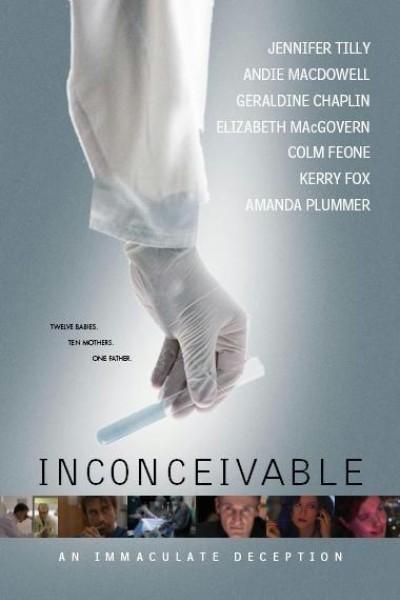 Caratula, cartel, poster o portada de Inconceivable