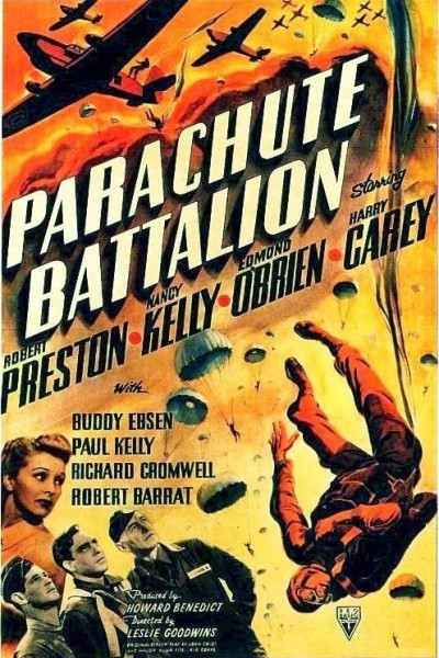 Caratula, cartel, poster o portada de Parachute Battalion