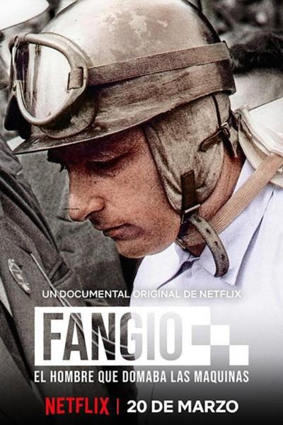 Caratula, cartel, poster o portada de Fangio, el hombre que domaba las máquinas