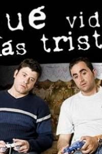 Caratula, cartel, poster o portada de Qué vida más triste