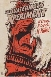 Caratula, cartel, poster o portada de El experimento del Dr. Quatermass