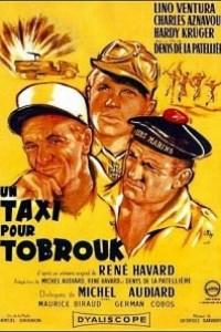 Caratula, cartel, poster o portada de Un taxi para Tobruk