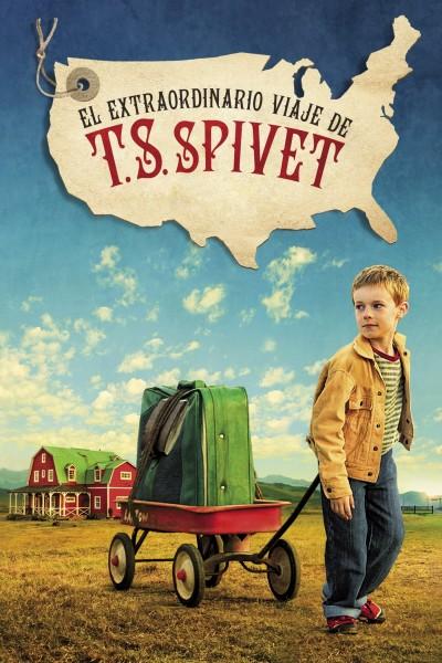 Caratula, cartel, poster o portada de El extraordinario viaje de T.S. Spivet