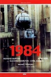 Caratula, cartel, poster o portada de 1984