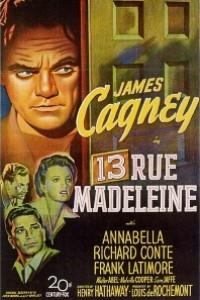 Caratula, cartel, poster o portada de Calle Madeleine nº 13