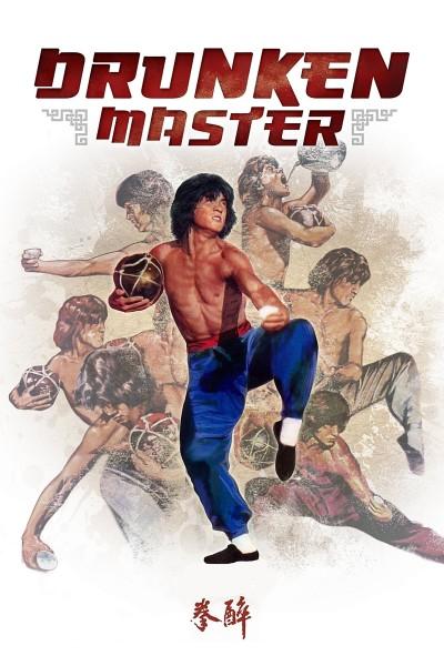 Caratula, cartel, poster o portada de El mono borracho en el ojo del tigre (Drunken Master)
