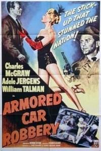 Caratula, cartel, poster o portada de Atraco al furgón blindado