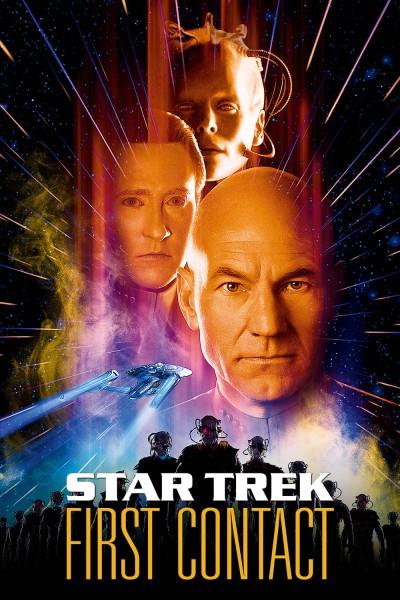 Caratula, cartel, poster o portada de Star Trek: Primer contacto