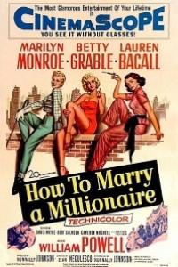 Caratula, cartel, poster o portada de Cómo casarse con un millonario