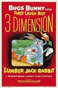 Caratula, cartel, poster o portada de Bugs Bunny: Lumber Jack-Rabbit