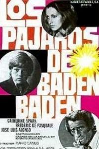 Caratula, cartel, poster o portada de Los pájaros de Baden-Baden