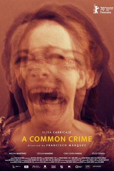 Caratula, cartel, poster o portada de Un crimen común
