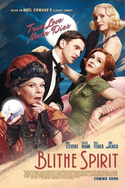 Caratula, cartel, poster o portada de Blithe Spirit