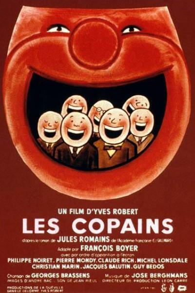 Caratula, cartel, poster o portada de Les copains