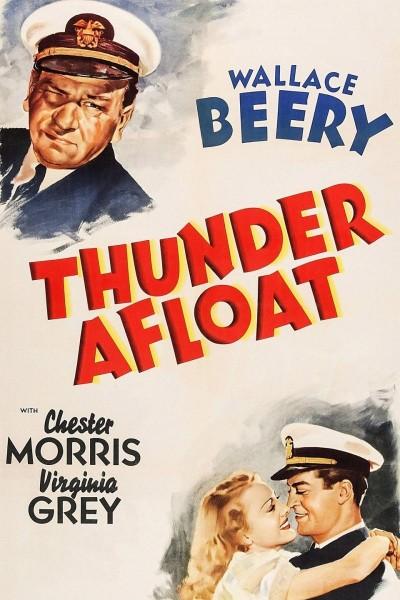 Caratula, cartel, poster o portada de Thunder Afloat