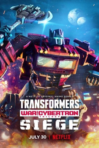 Caratula, cartel, poster o portada de Transformers: Trilogía de la guerra por Cybertron: Asedio