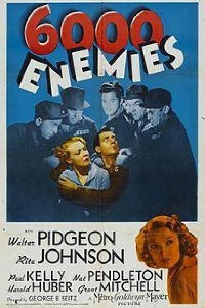 Caratula, cartel, poster o portada de 6000 Enemies