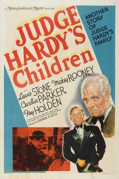 Caratula, cartel, poster o portada de El juez Harvey y sus hijos