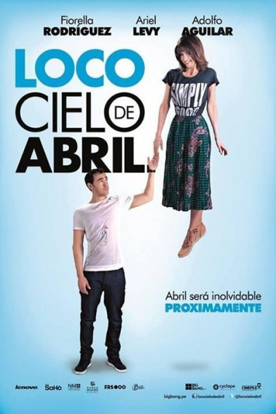 Caratula, cartel, poster o portada de Loco cielo de Abril
