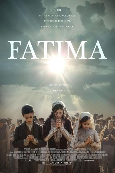 Caratula, cartel, poster o portada de Fátima, la película