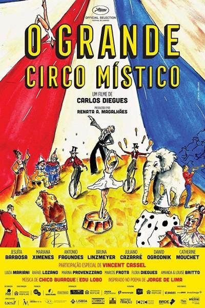 Caratula, cartel, poster o portada de O Grande Circo Místico