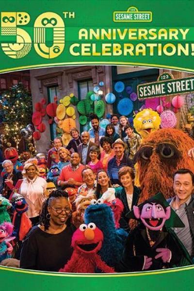 Caratula, cartel, poster o portada de Sesame Street\'s 50th Anniversary Celebration
