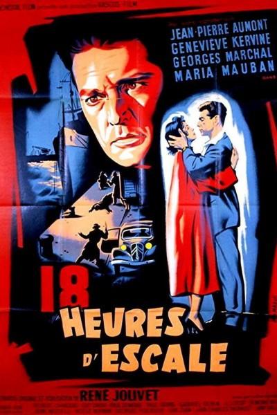 Caratula, cartel, poster o portada de Dix-huit heures d\'escale