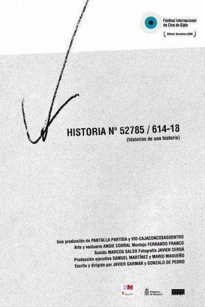 Caratula, cartel, poster o portada de Historia nº 52785/614-18 (Historias de una historia)