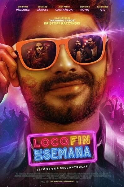 Caratula, cartel, poster o portada de Loco fin de semana