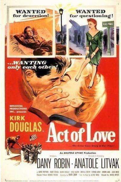 Caratula, cartel, poster o portada de Acto de amor