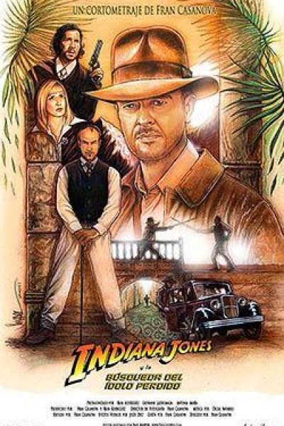 Caratula, cartel, poster o portada de Indiana Jones y la búsqueda del ídolo perdido