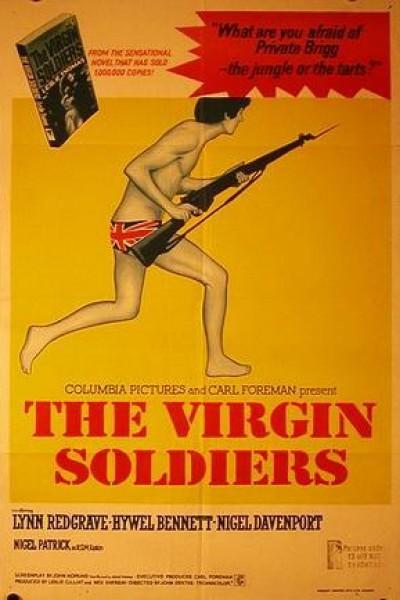 Caratula, cartel, poster o portada de Los llamaban los soldados vírgenes
