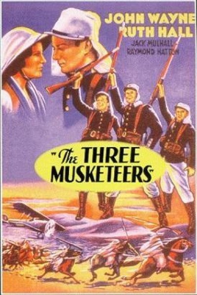 Caratula, cartel, poster o portada de Los tres mosqueteros del desierto