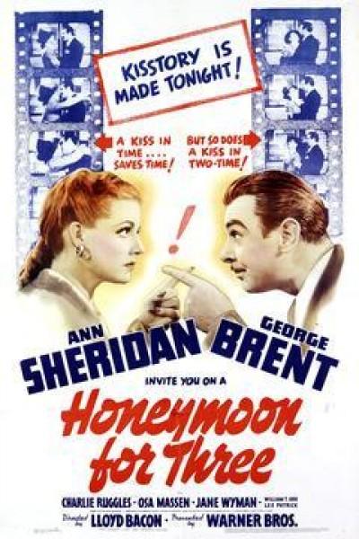 Caratula, cartel, poster o portada de Honeymoon for Three