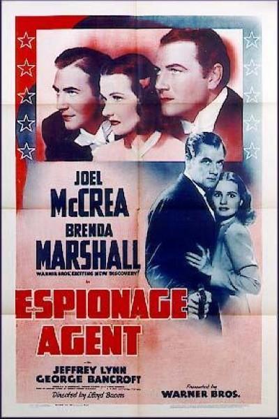 Caratula, cartel, poster o portada de Espionage Agent