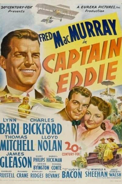 Caratula, cartel, poster o portada de El capitán Eddie