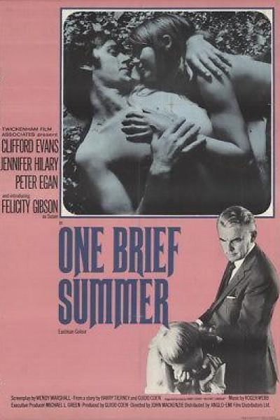 Caratula, cartel, poster o portada de One Brief Summer