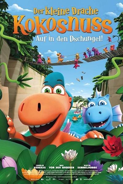 Caratula, cartel, poster o portada de Coco, el pequeño dragón. Aventuras en la Jungla