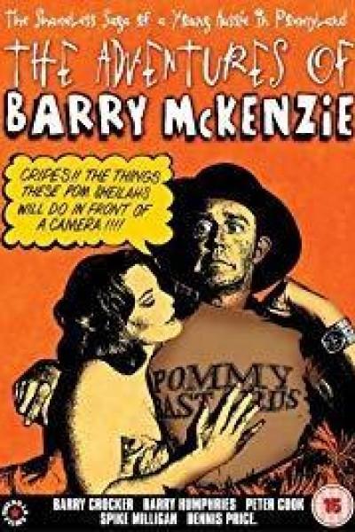 Caratula, cartel, poster o portada de The Adventures of Barry McKenzie