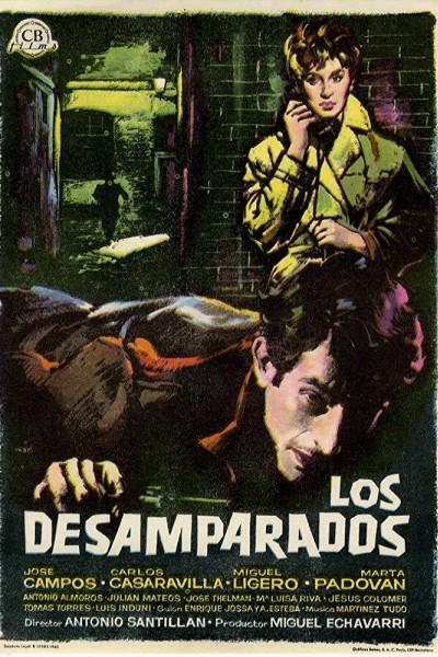 Caratula, cartel, poster o portada de Los desamparados