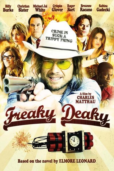 Caratula, cartel, poster o portada de Freaky Deaky