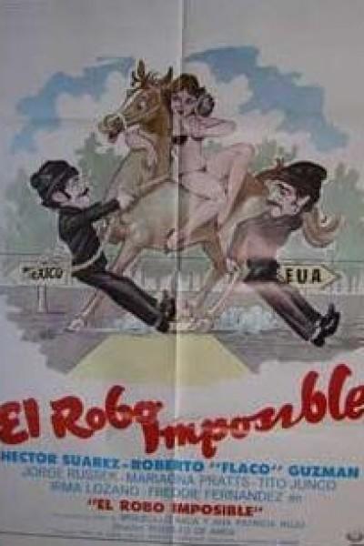 Caratula, cartel, poster o portada de El robo imposible