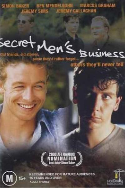 Caratula, cartel, poster o portada de Secret Men\'s Business